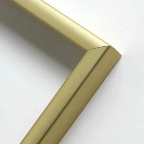 Nielsen obrazový rám aluminiový profil 01, zlatá mat