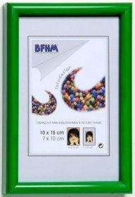 Obrazový rám BF A s antireflexním sklem barva zelená lesk