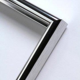 Nielsen hliníkový profil 02 stříbrná lesklá