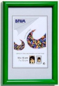 Obrazový rám BF P/A plexisklo antireflex, barva zelená lesk