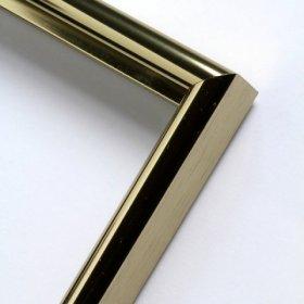 Nielsen hliníkový profil 02 staré stříbro lesklý