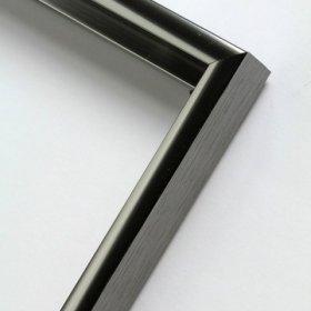 Nielsen obrazový rám aluminiový profil 01, kovově šedá - lesk