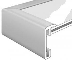 Nielsen aluminiový rychlorám ACCENT šedostříbrná