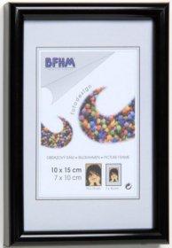 Obrazový rám BF P/A plexisklo antireflex, barva černá lesk