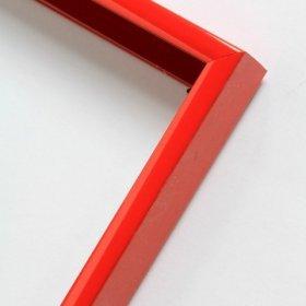 Nielsen obrazový rám aluminiový profil 01, červená Ferrari - lesk