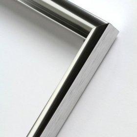 Nielsen obrazový rám aluminiový profil 01, stříbrná - lesk