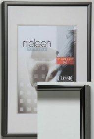 Nielsen aluminiový rychlorám typ Classic, kontrastní šedá