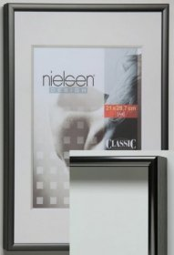 Nielsen aluminiový rychlorám typ Classic,  šedá matná