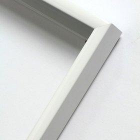 Nielsen obrazový rám aluminiový profil 01, bílá - lesk