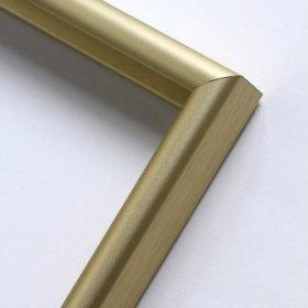 Nielsen hliníkový profil 02 zlatá matná