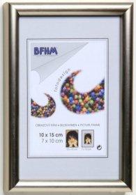 Obrazový rám BF P/A plexisklo antireflex, barva elox šampaň matná