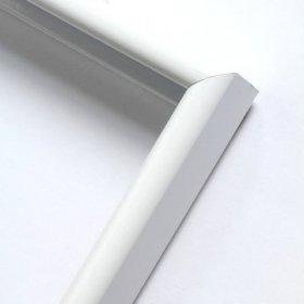 Nielsen aluminiový profil 02, bílá - lesk