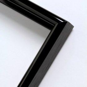 Nielsen aluminiový profil 02, černá - lesk