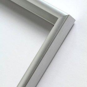 Nielsen obrazový rám aluminiový profil 01, stříbrná mat