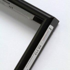 Nielsen aluminiový profil 02, černá - mat