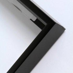 Nielsen aluminiový profil 23,černá mat.