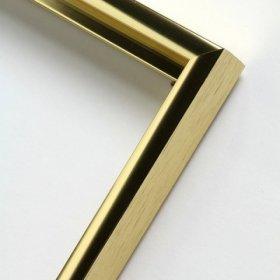 Nielsen obrazový rám aluminiový profil 01,zlatá lesk