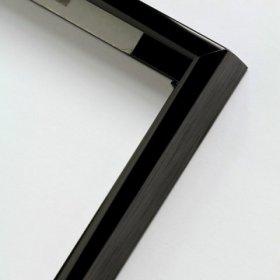 Nielsen obrazový rám aluminiový profil 01, černá - lesk