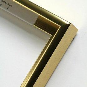 Nielsen aluminiový profil 11, zlatá - lesk