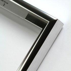 Nielsen aluminiový profil 11, stříbrná - lesk