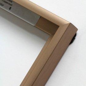 Nielsen aluminiový profil 11, bronzová - mat