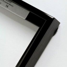 Nielsen aluminiový profil 11, černá - lesk
