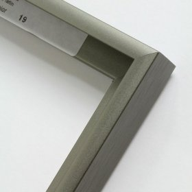 Nielsen aluminiový profil 11, platinová - mat