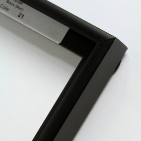 Nielsen aluminiový profil 11, černá - mat