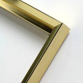 Nielsen aluminiový profil 217,zlatá lesk