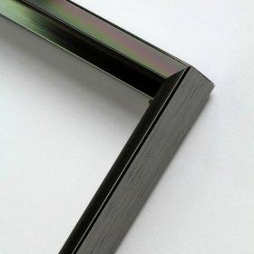 Nielsen aluminiový profil 217,kontrastní šedá lesk