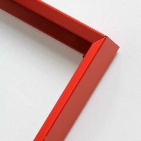 Nielsen aluminiový profil 217,červená Flame mat