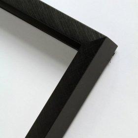 Nielsen aluminiový profil 03, florent. černá