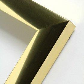 Nielsen aluminiový profil 05 zlatá lesk