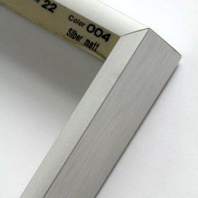 Nielsen aluminiový profil 22 stříbrná mat