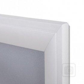 Design klaprám profil lišty 40 mm  ostré rohy