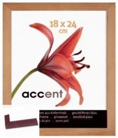 Dřevěný rychlorám - Accent Wood červená