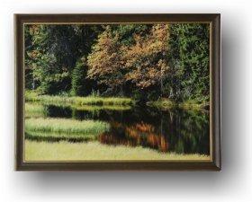 Fotoobraz f 60x90 cm cm + rám Nielsen Mateo červenohnědá