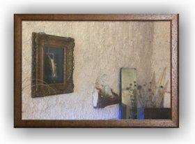 Fotoobraz f 40x60 cm  + rám Nielsen Volta ořech
